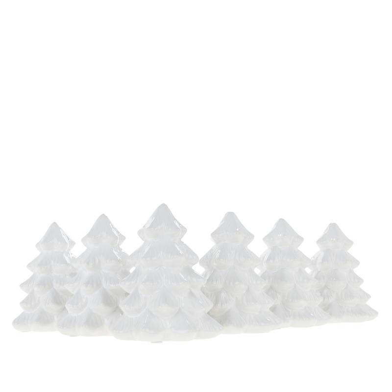August & Leo Christmas Tree Place Card Holders-Set of 6