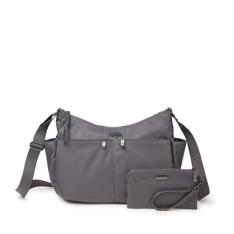 Baggallini West Village Hobo with Wristlet