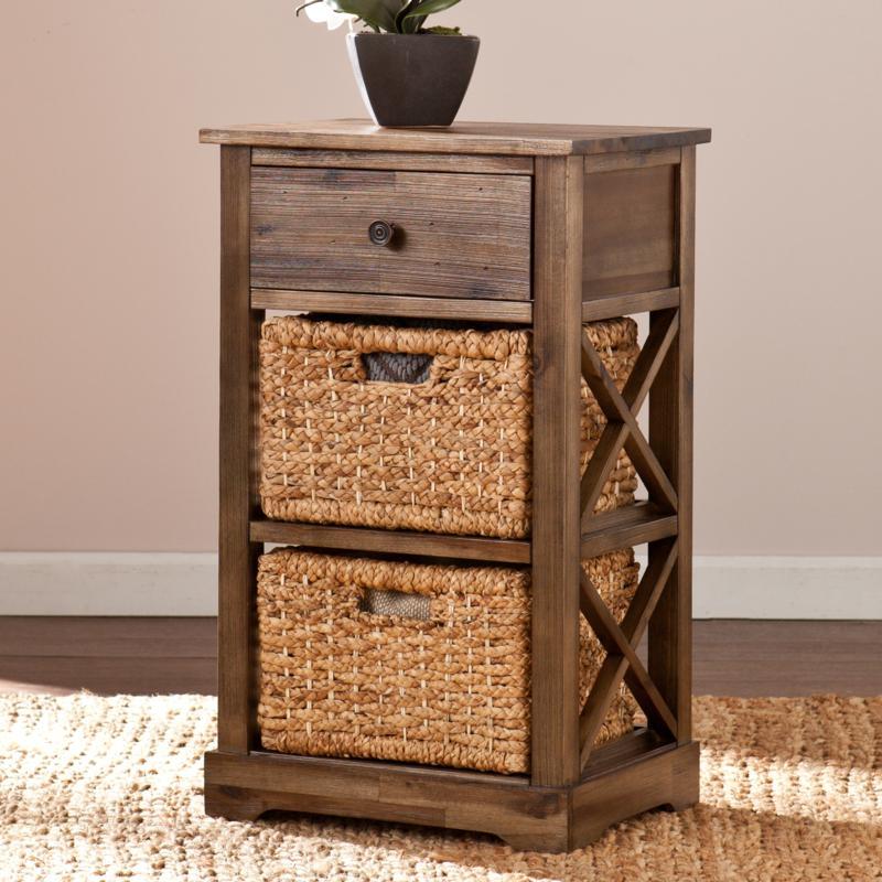 Bardwell 2-Basket Storage Shelf
