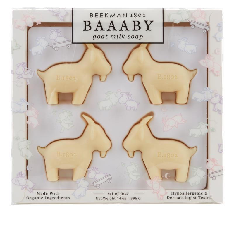 Beekman 1802 4-piece Baaaby Goat Milk Bar Soap Set