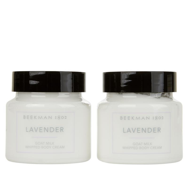 Beekman 1802 Goat Milk Whipped Body Cream 2-pack - Lavender