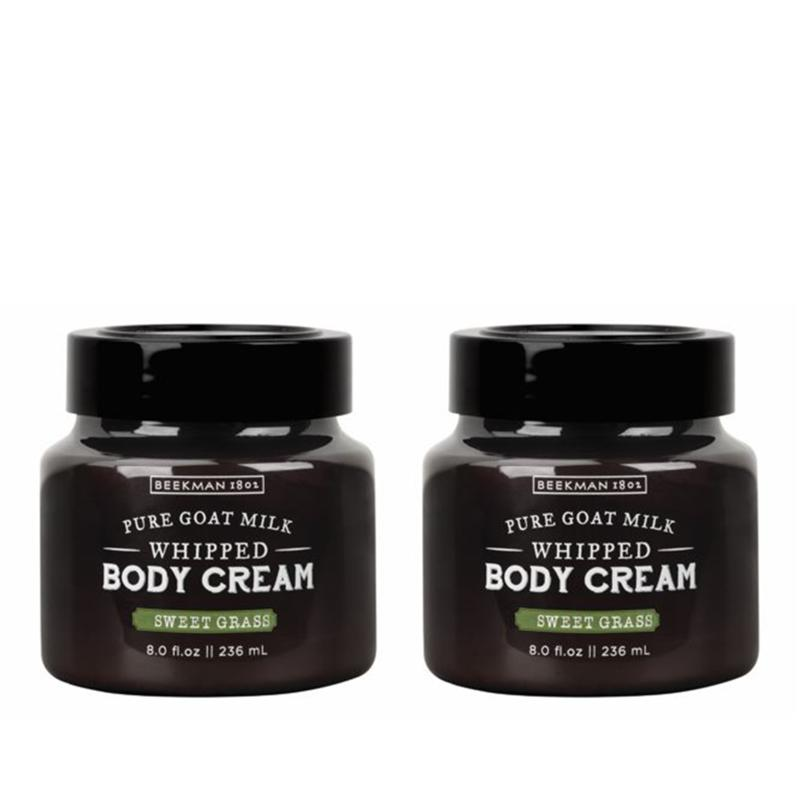 Beekman 1802 Sweet Grass Goat Milk Whipped Body Cream Duo - Auto-Ship®