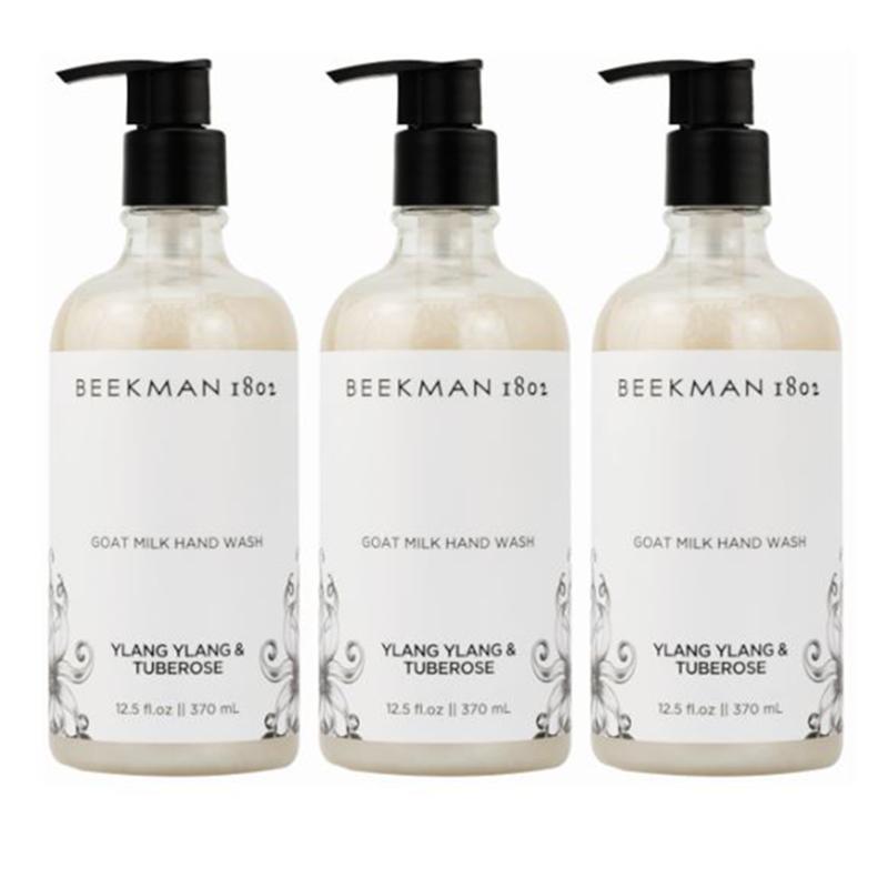 Beekman 1802 Ylang Ylang & Tuberose Goat Milk Hand & Body Wash 3-pk AS