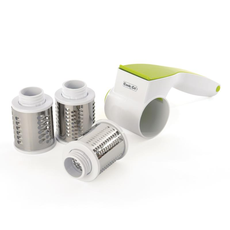 BergHOFF Cook'N'Co 5-piece Rotary Cheese Grater Set
