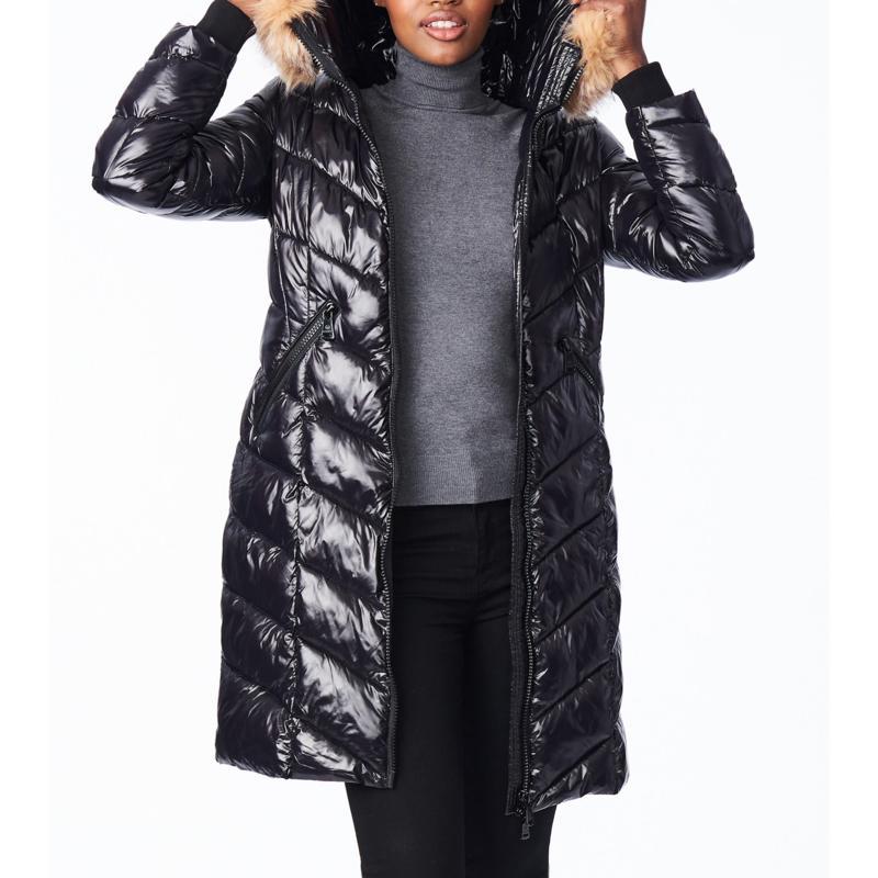 Bernardo Shiny Nylon Coat