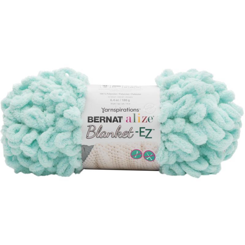 Bernat Alize Blanket-EZ Yarn - Mint