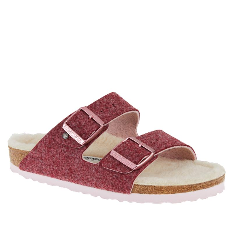 Birkenstock Arizona Happy Lamb Comfort Sandal