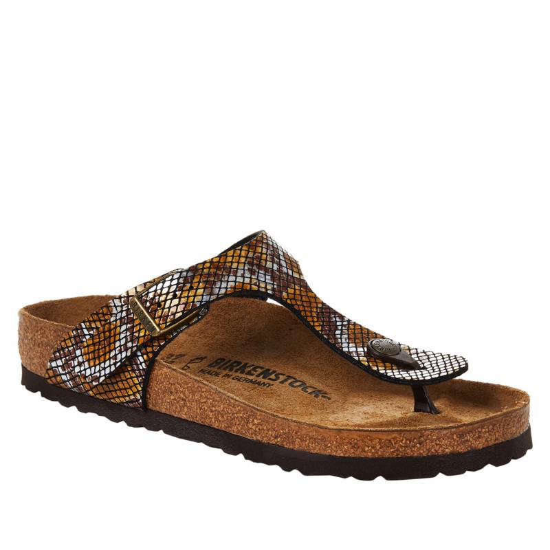 Birkenstock Gizeh Python Thong Comfort Sandal