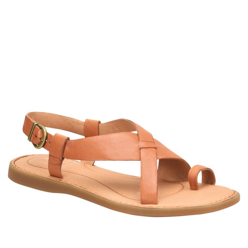 Born Inya Leather Toe Loop Sandal