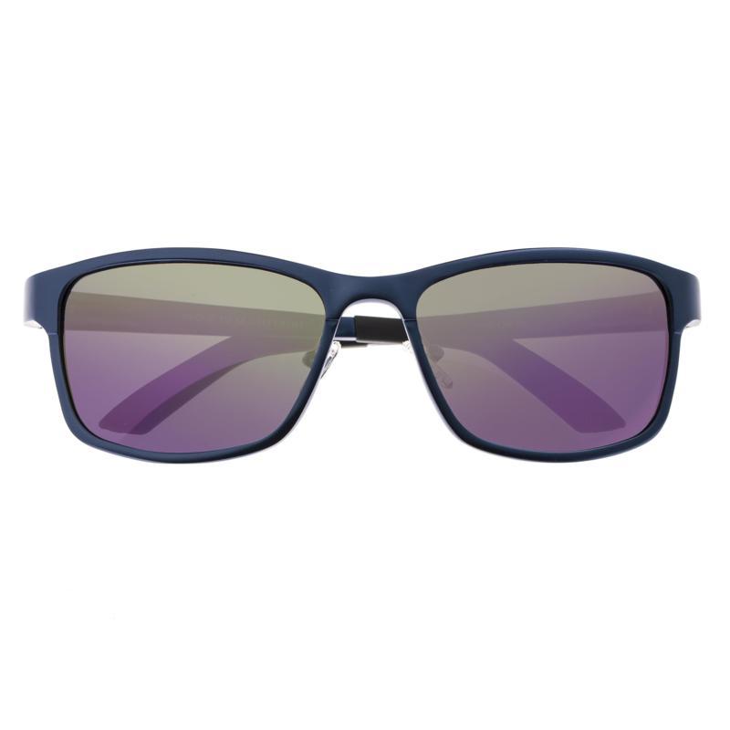 Breed Hydra Aluminium Polarized Sunglasses with Blue Frames