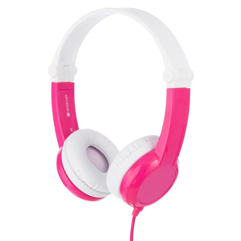 BuddyPhones Connect Volume-Limiting Wired Kids Headphones