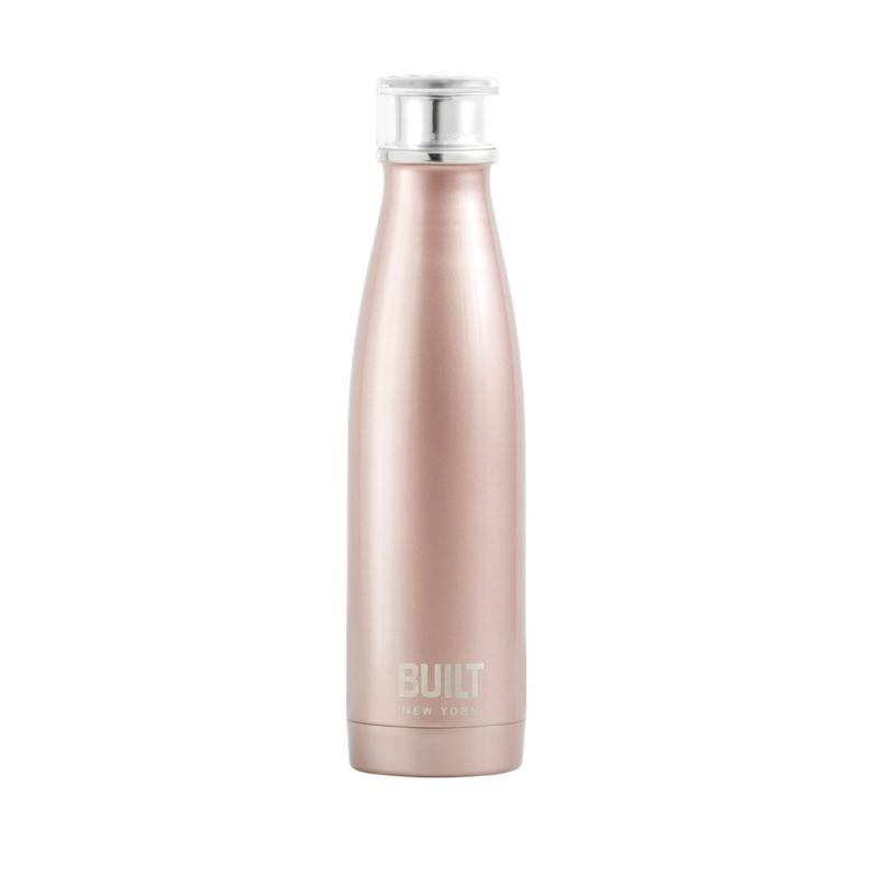 Built New York 17oz. Double-Walled Stainless Steel Water Bottle