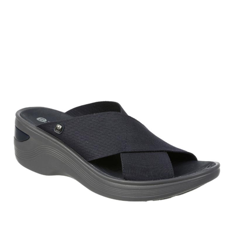 Bzees Desire Washable Wedge Slide Sandal