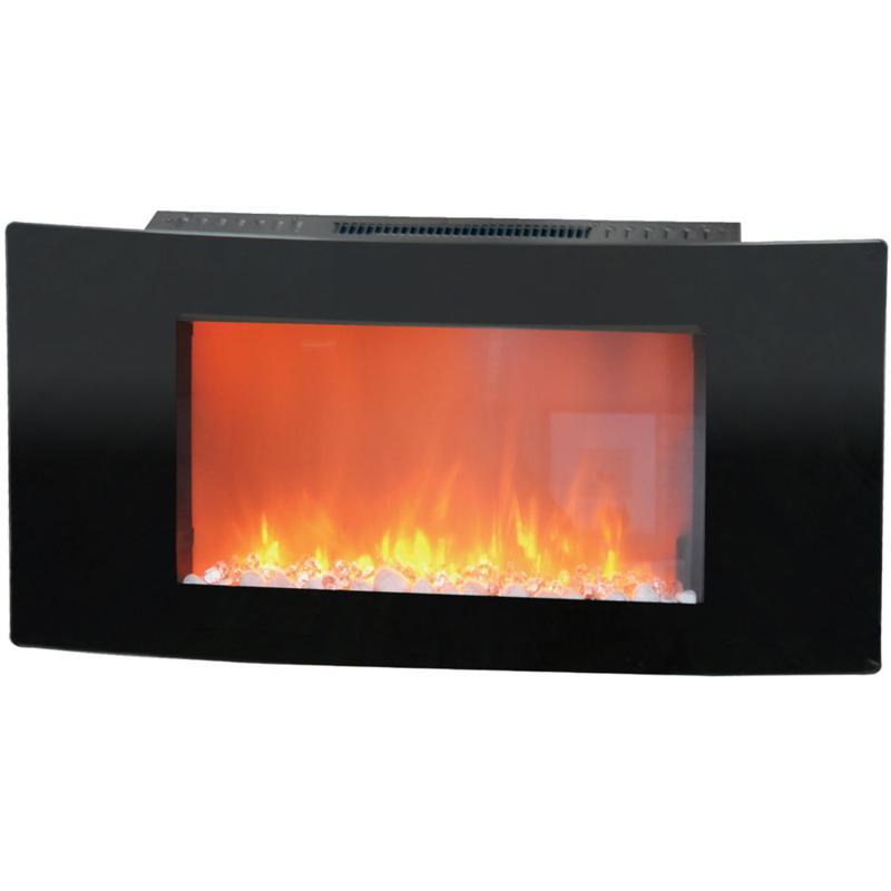 Callisto Wall-Mount Electronic Fireplace