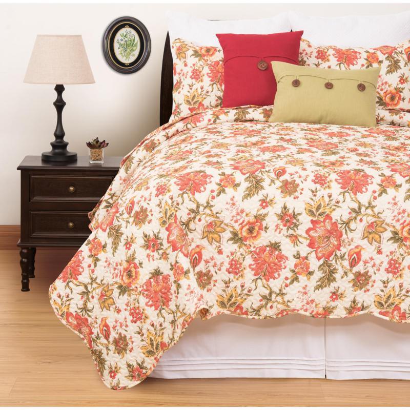 C&F Home Alyssa Quilt Set, King