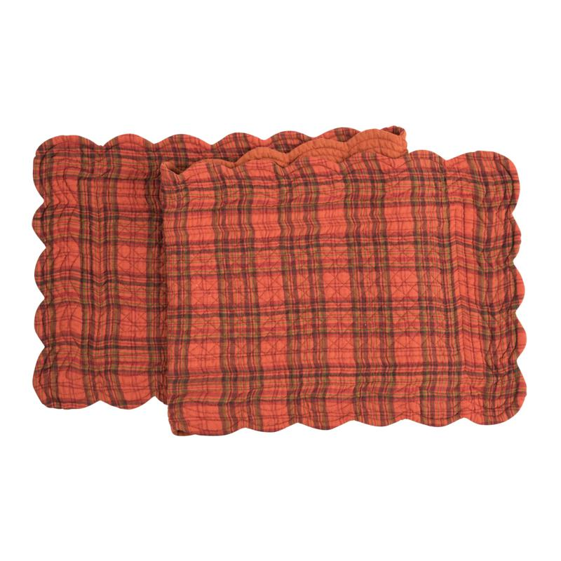 C&F Home Remington Plaid Table Runner