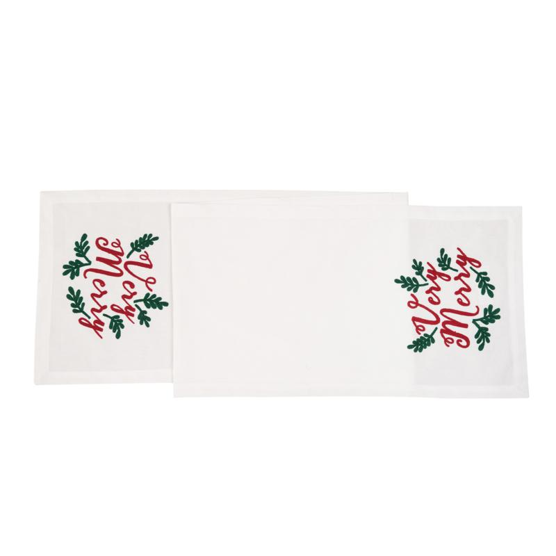 C&F Home Very Merry Table Runner