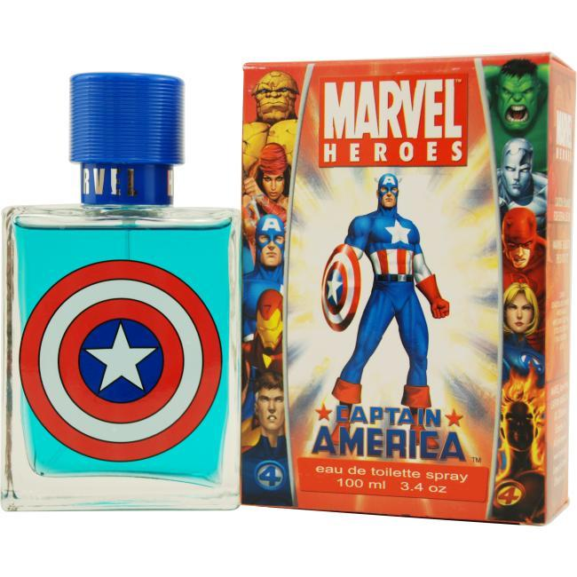 Captain America by Marvel EDT Spray 3.4 oz for Men