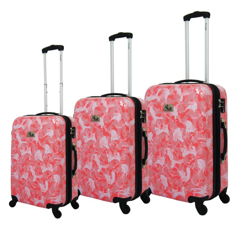 Chariot 3-piece Hardside Luggage Set - Armada
