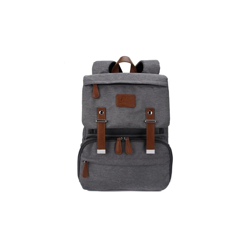 Citi Collective Citi Navigator Grey Nylon Diaper Bag Backpack