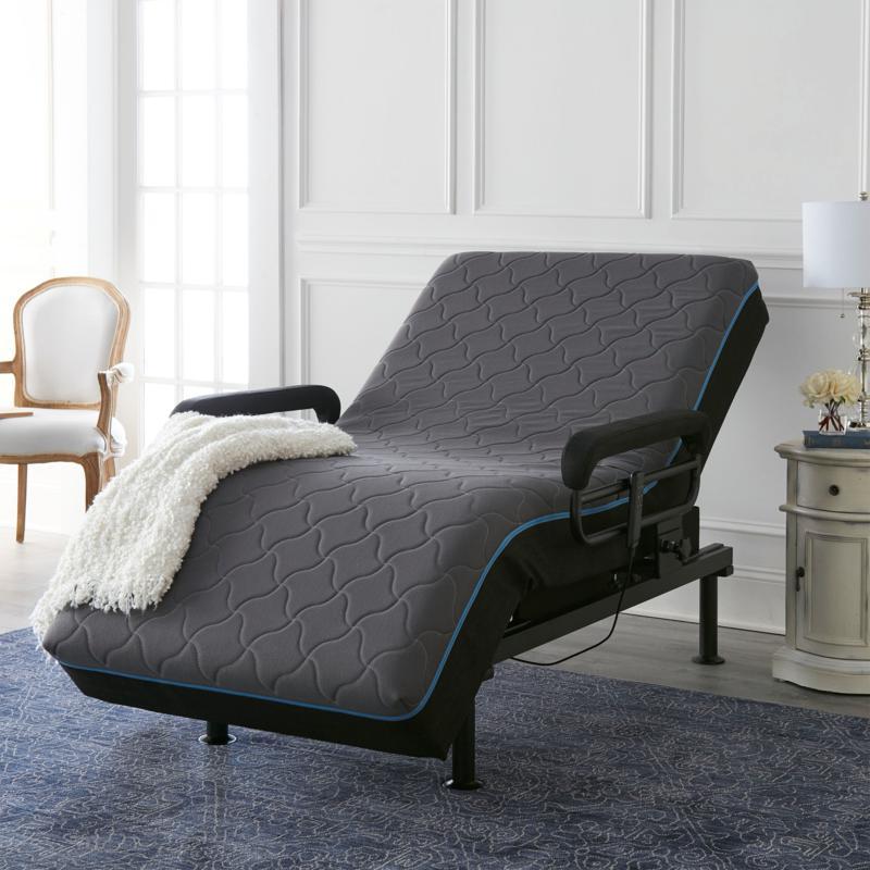Cloud Mountain Adjustable Folding Twin XL Memory Foam Bed