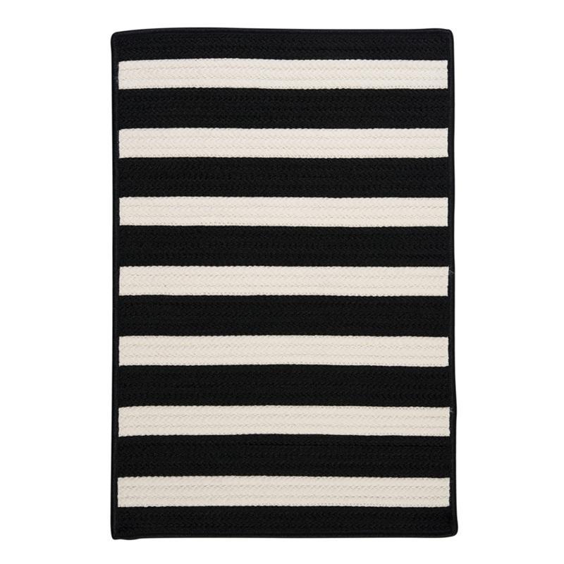 Colonial Mills Stripe It 2' x 3' Rug - Black/White