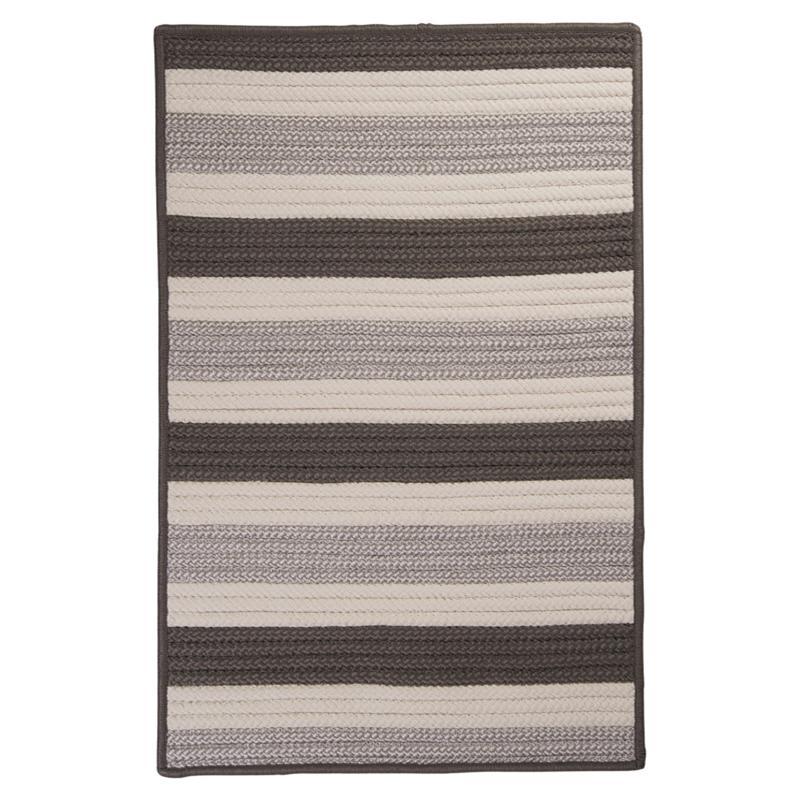 Colonial Mills Stripe It 2' x 3' Rug - Silver