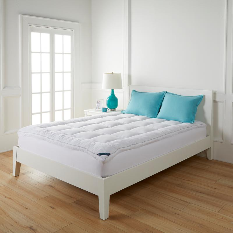 """Concierge Collection 2"""" Overfilled Coolmax® Mattress Topper"""