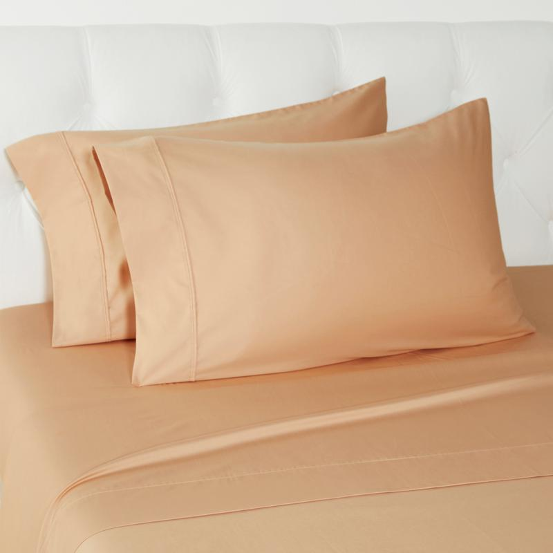 Concierge Collection 500TC 100% Cotton 2-pack Pillowcases - Standard
