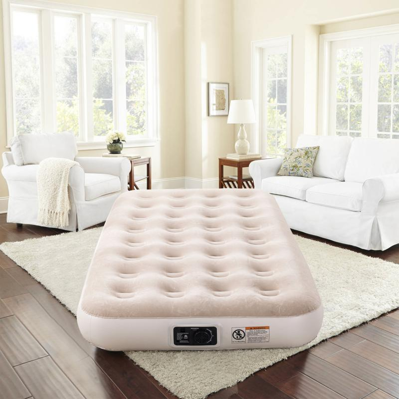 "Concierge Collection 9"" Twin Air Mattress with Built-In Pump"