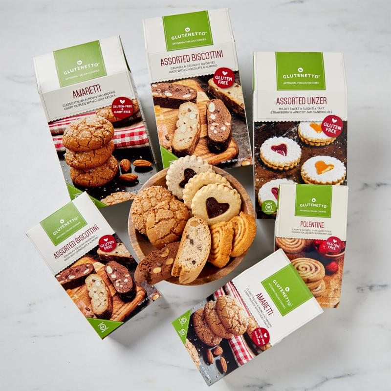 Cookies Con Amore 6-pack Gluten Free Coffee Companion Cookie Bundle
