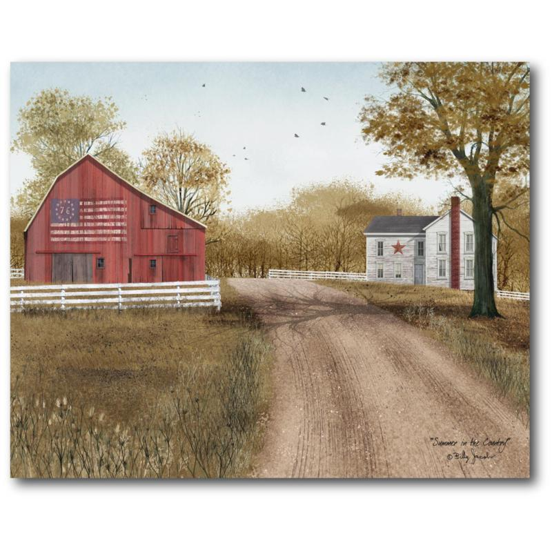 Courtside Market Off The Road 16x20 Canvas Wall Art