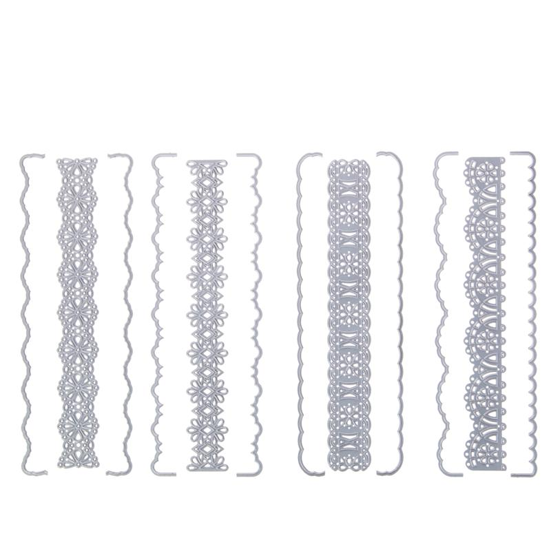 Crafter's Companion 4-pack Floral Ribbon Threading Dies