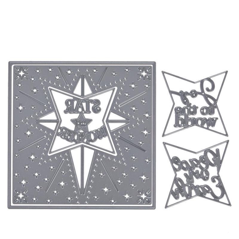Crafter's Companion Gemini Create-A-Card Star Frame