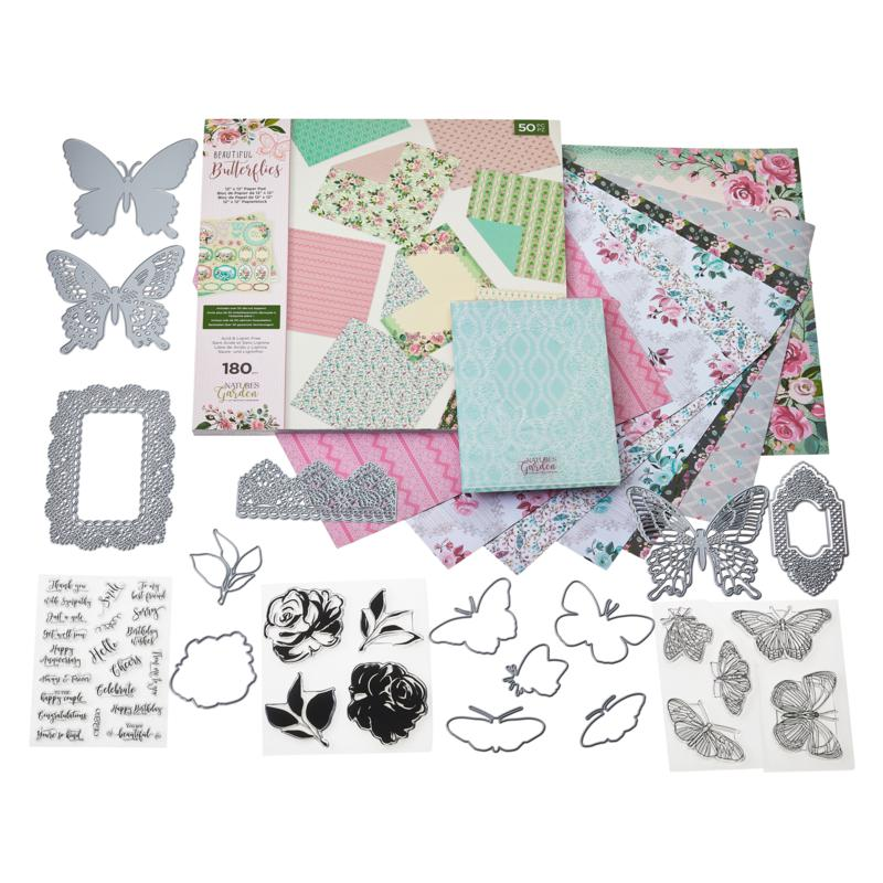 Crafter's Companion Nature's Garden Butterfly Bundle