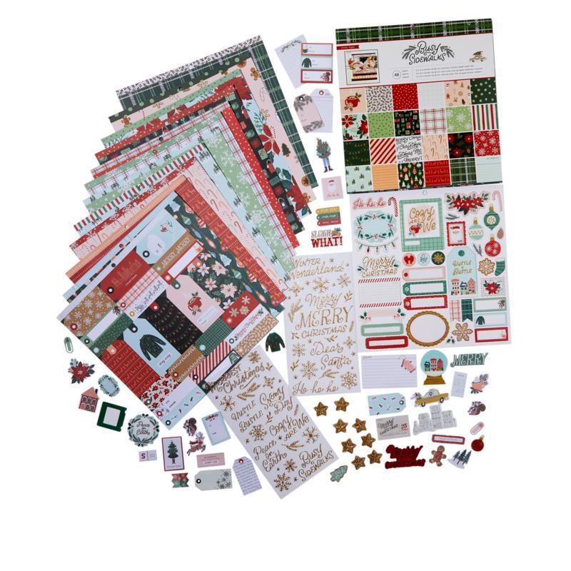 Crate Paper Busy Sidewalks Paper Kit