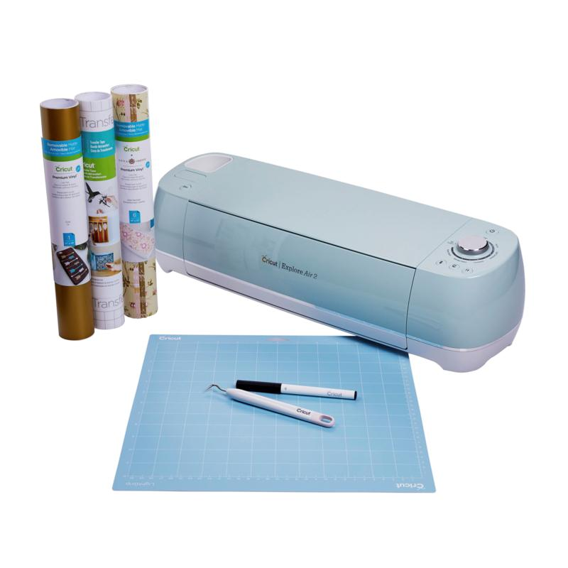 Cricut Explore® Air 2 with Vinyl Variety, Tape and Weeder