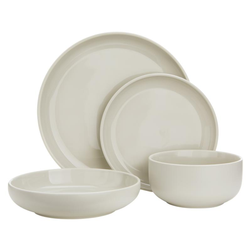 Curtis Stone Dura-Plate 4-piece Dinnerware Set