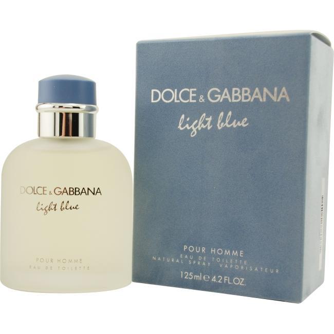 D & G Light Blue Eau De Toilette Spray