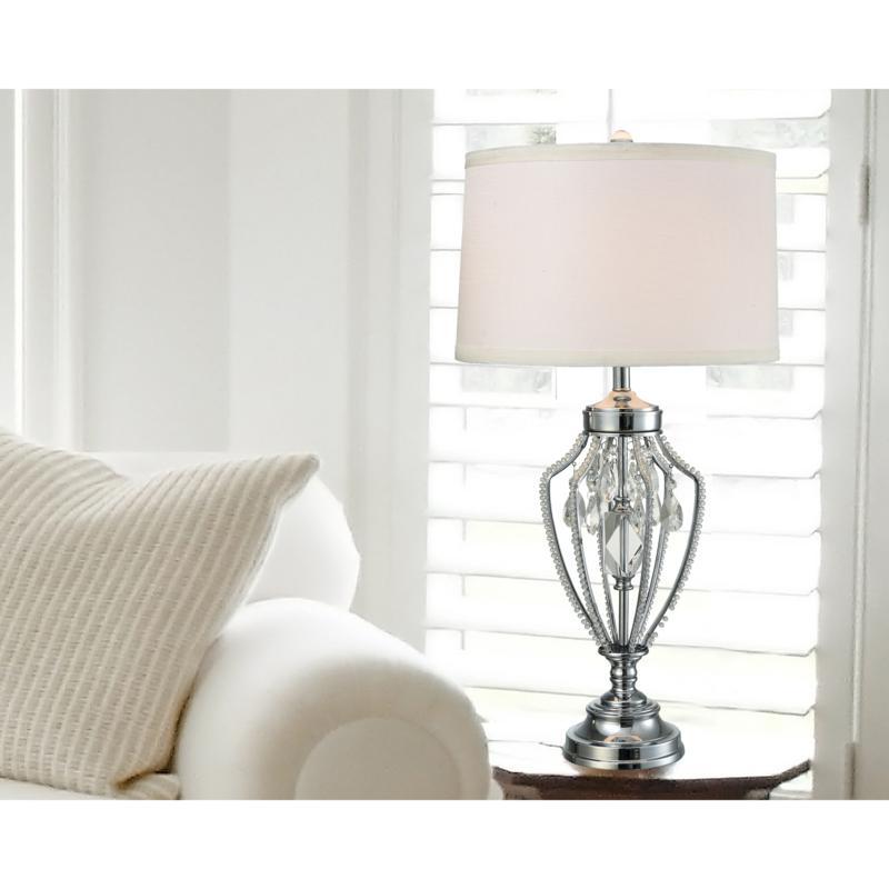 Dale Tiffany Tonya Crystal Table Lamp