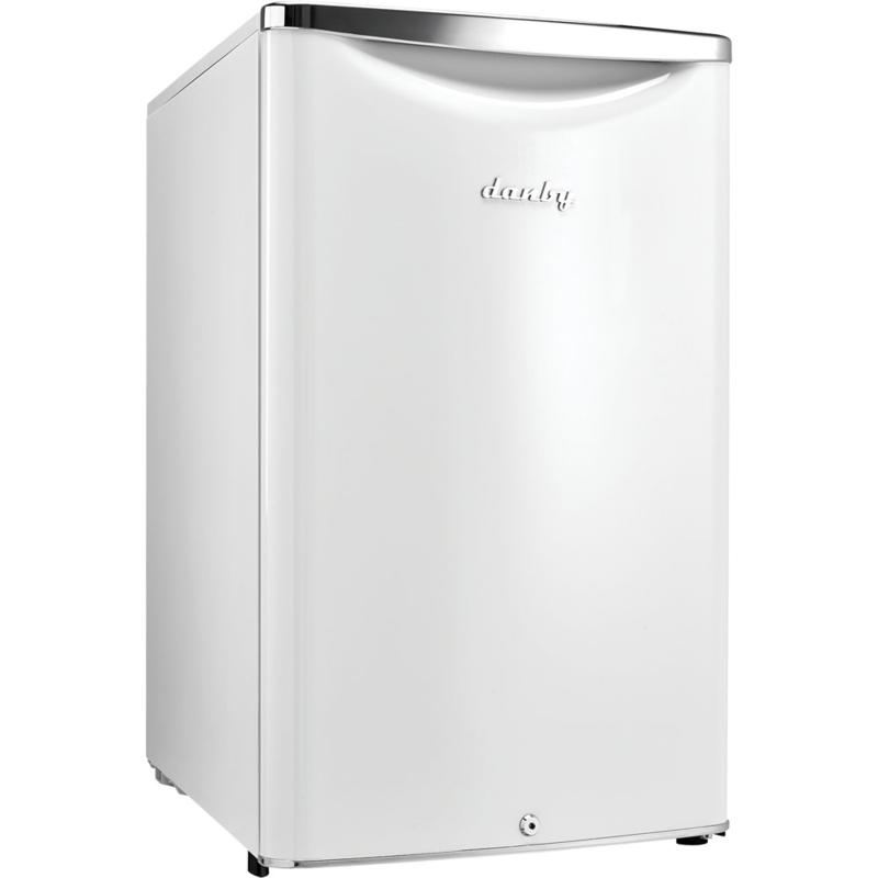 Danby 4.4 CF Classic Compact Refrigerator - Pearl White