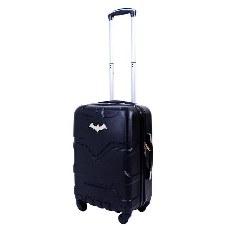 DC Comics Batman 21-inch Hard-sided Carry-On Luggage Spinner, Black