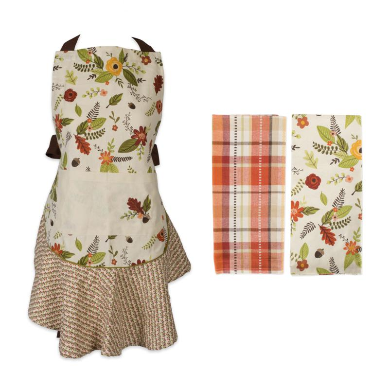 Design Imports 3-Piece Fall In Love Baking Set