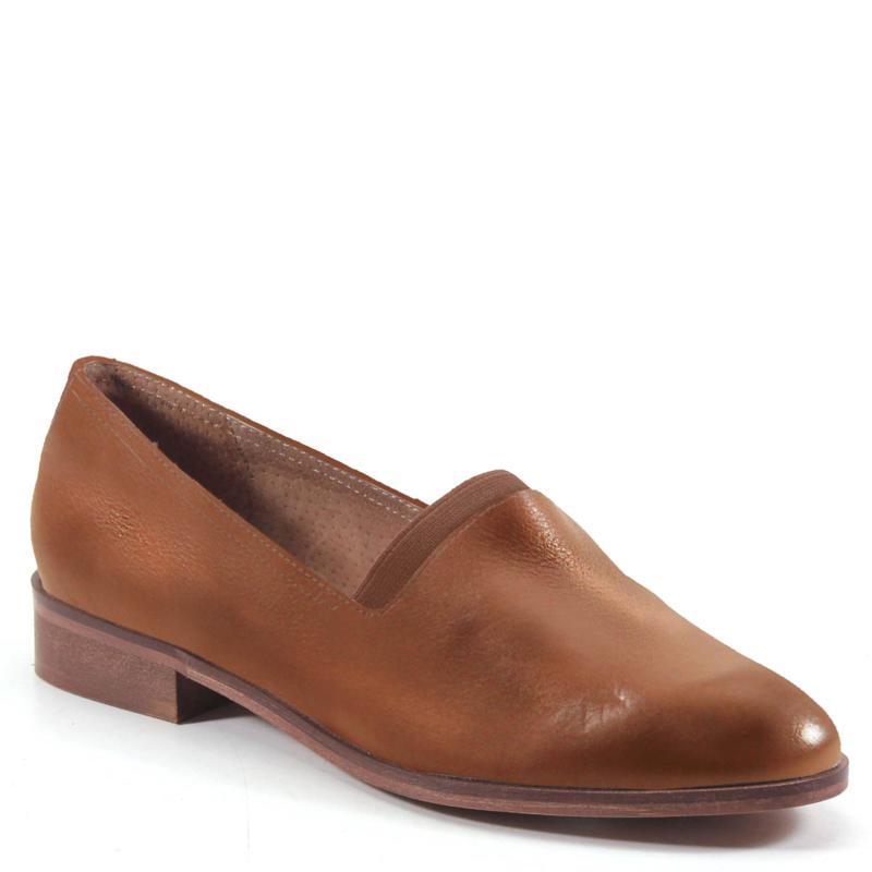 Diba True Nine Pin Leather Loafer