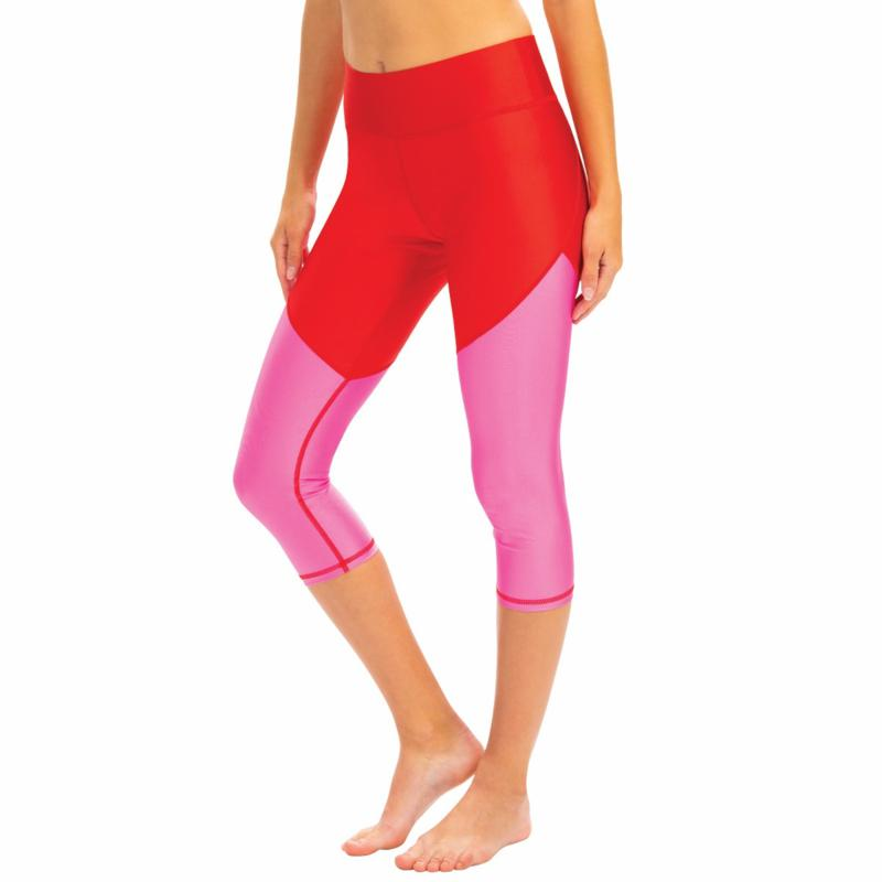 Dolfin Uglies Revibe High-Shine Aqua Swim Capri Legging - Womens