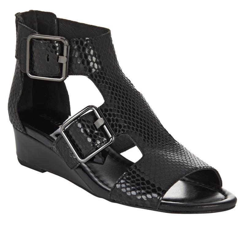 Donald J. Pliner Olive Leather Gladiator Sandal