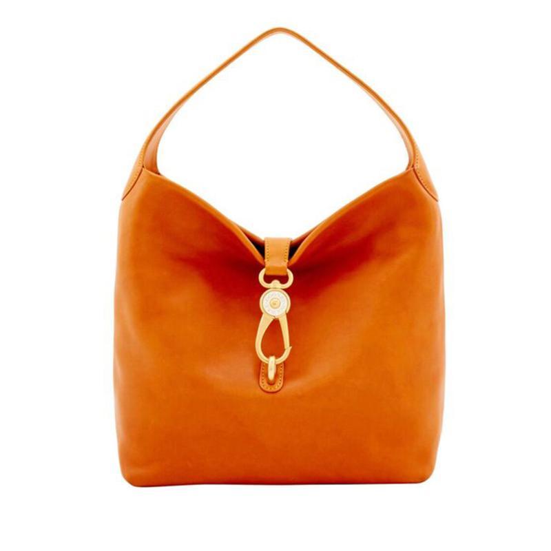Dooney & Bourke Florentine Leather Bag with Lock