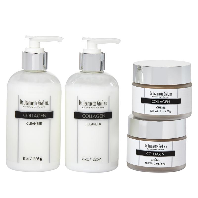 Dr. Jeannette Graf, M.D. Collagen Creme & Cleanser Double Up