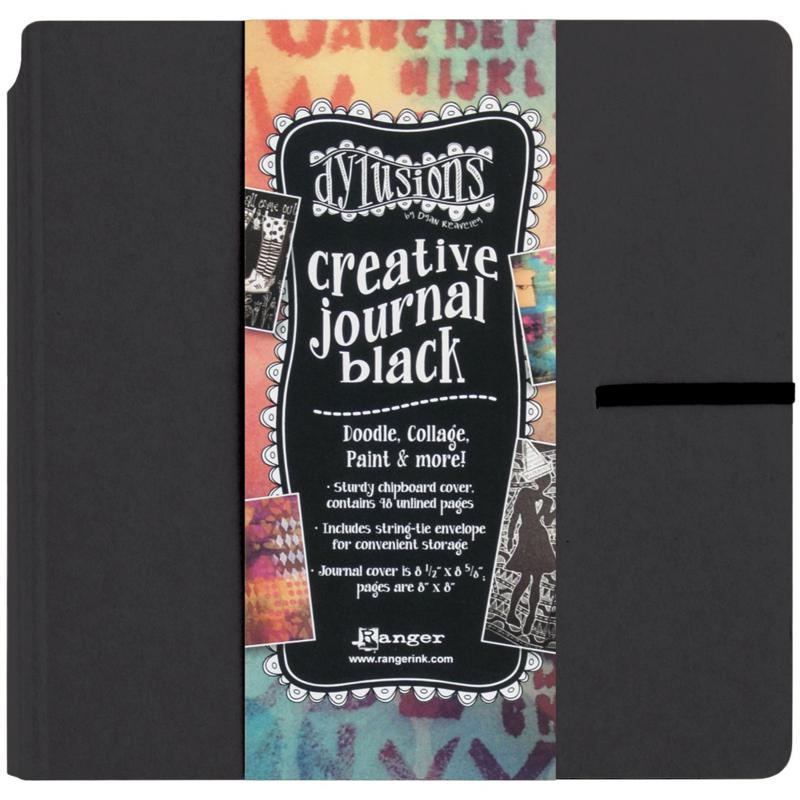 Dyan Reaveley's Dylusions Creative Journal 8.75X9 - Black