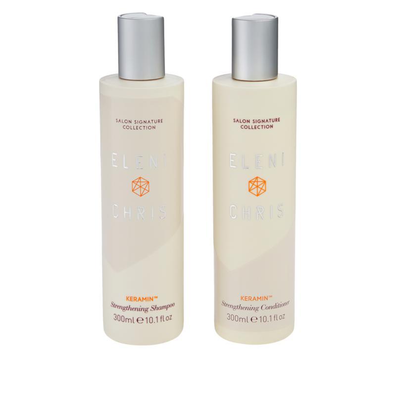 Eleni & Chris 2-piece KeraMin Shampoo and Conditioner